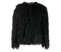 'Magnolie' Mantel aus Pelz