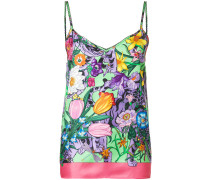Flora print camisole top