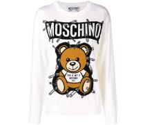 Sweatshirt mit Teddy-Bär
