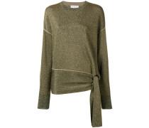 Pullover mit Bindegürtel
