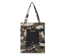 Handtasche mit Camouflagemuster