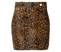Minirock mit Leoparden-Print