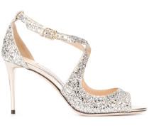 'Emily' Sandalen im Glitter-Look