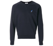 shooting star patch sweatshirt