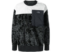 Sweatshirt mit Kontrastärmeln