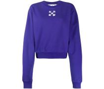 'Spray Arrows' Cropped-Sweatshirt