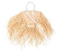 'Le Petit Baci' Handtasche aus Raffiabast