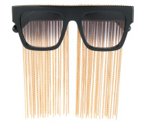 chain fringe sunglasses