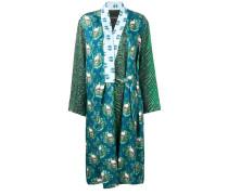 Kimono mit Totenkopf-Print