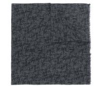 printed fine knit scarf