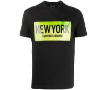 stitched logo T-shirt