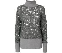 Pullover mit Perforierung