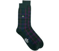 checked socks