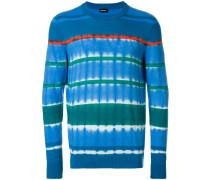 Pullover mit Batikstreifen