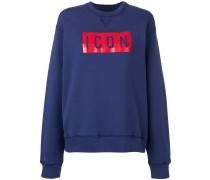 Icon print sweatshirt