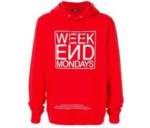 'Week End Mondays' Kapuzenpullover