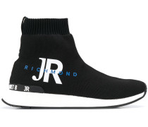 Sock-Sneakers mit Logo