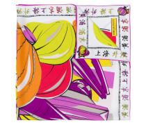 """Seidenschal mit """"Shanghai""""-Print"""