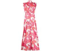 'Peggy' Kleid mit Paisley-Print