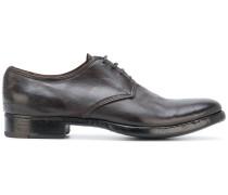Derby-Schuhe mit Distressed-Sohle