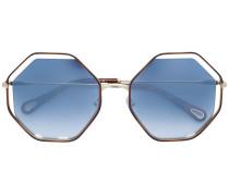octagonal frame sunglasses