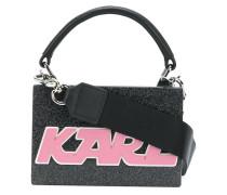 mini logo box bag