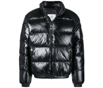 zipped padded jacket