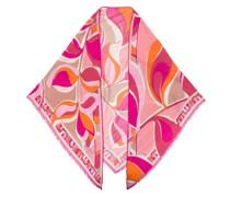 Schal mit psychedelischem Print