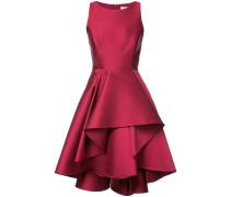layered ruffled skirt dress