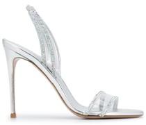 Sandalen mit Kristallen, 110mm