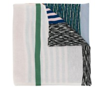 Schal in Colour-Block-Optik