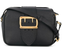 The Small Buckle Crossbody Bag in Leather