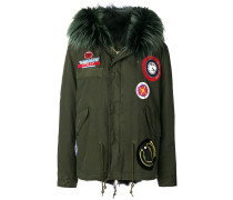 Parka mit Patches