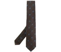 Krawatte mit Punktemuster