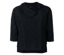 asymmetric cropped blouse