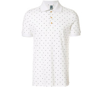 butterfly print polo