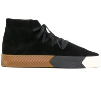 'Skate' High-Top-Sneakers aus Wildleder