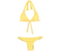 Texturierter Triangel-Bikini