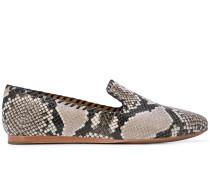 Loafer in Schlangenleder-Optik