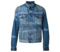 Jeansjacke mit Färbung