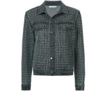 diamanté embellished denim jacket
