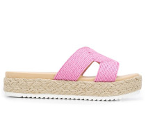 Sandalen mit Kontrastdetail