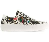 Tropical flatform sneakers