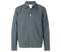 Kastige Jacke mit Reißverschluss