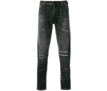 Schmale 'Gothic Surfer' Jeans