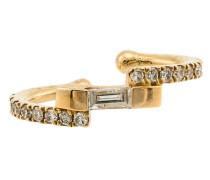 Ear Cuff aus Gelbgold mit Diamanten