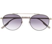 rounded aviator sunglasses