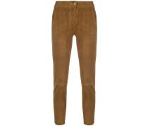 Cropped-Hose mit geradem Schnitt