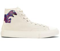 printed hi-top sneakers - Unavailable