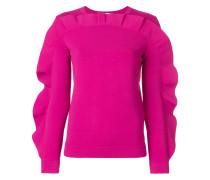Gerüschtes Sweatshirt